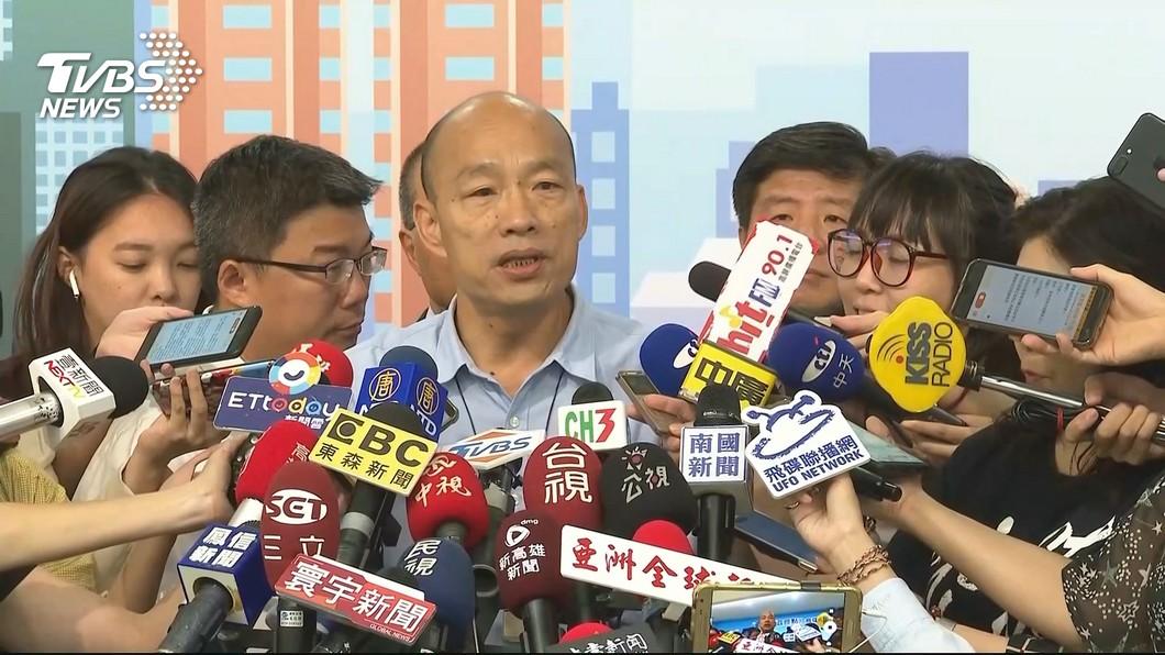 圖/TVBS 民團要罷免韓國瑜 朱立倫:政治動作大於實質意義