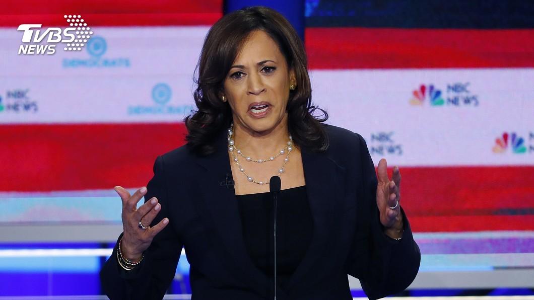 圖/達志影像美聯社 辯論氣勢強壓拜登 美民主黨再現參選女力