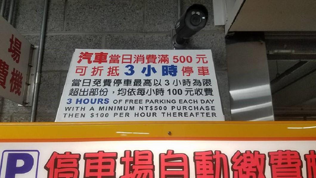 圖/翻攝自臉書社團「Costco好市多 商品經驗老實說」 這家好市多停1hr要100 收費原因曝光網友喊支持