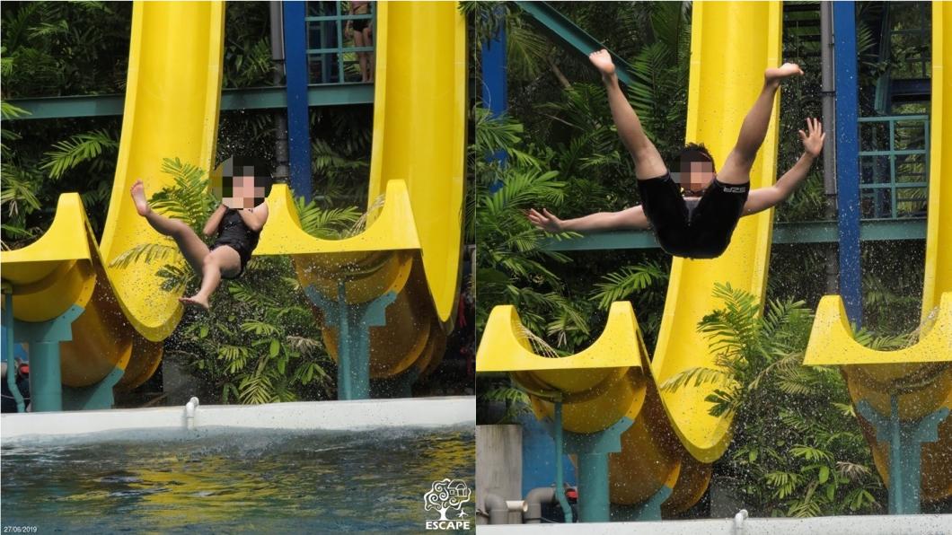 遊客可以盡情尖叫,享受4分鐘的滑水之旅。圖/翻攝自Escape Theme Park, Penang臉書