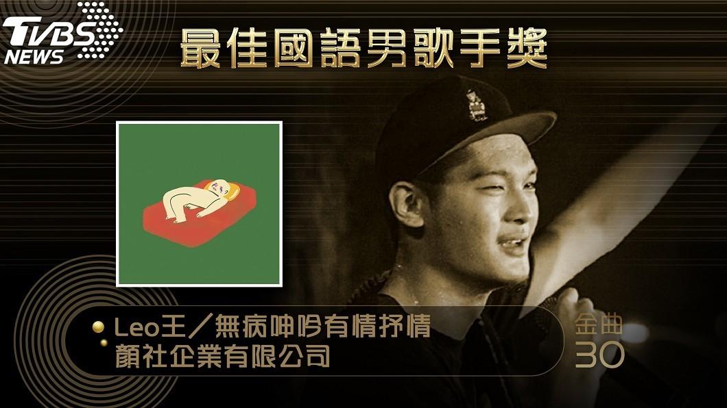圖/TVBS 饒舌勢力崛起!黑馬「Leo王」奪金曲國語歌王