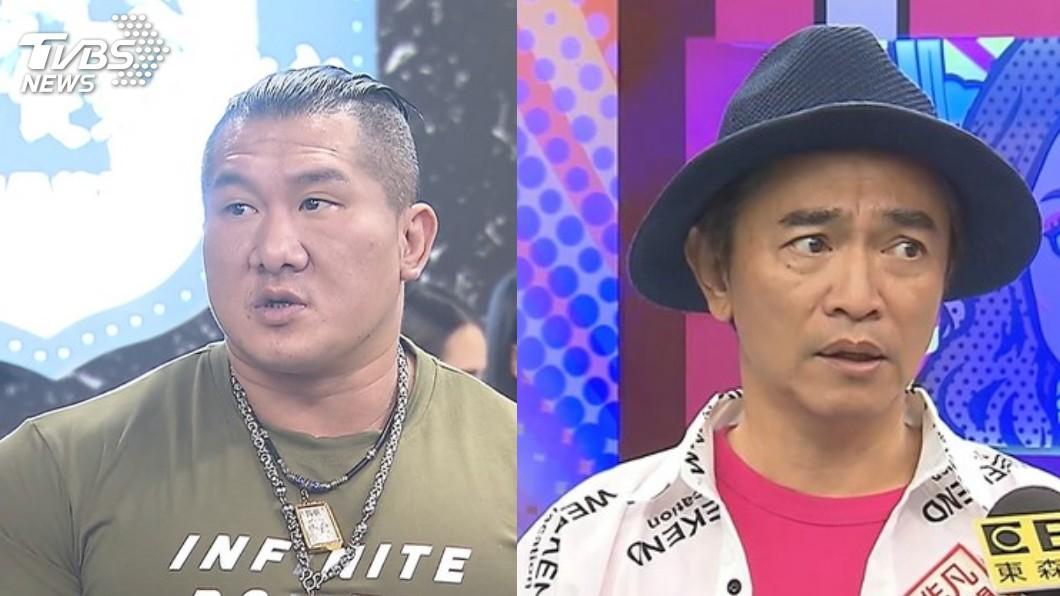館長(圖左)點名砲轟吳宗憲(圖右)。圖/TVBS資料畫面 「台灣出事人在哪?」被館長爆氣點名 憲哥回應了