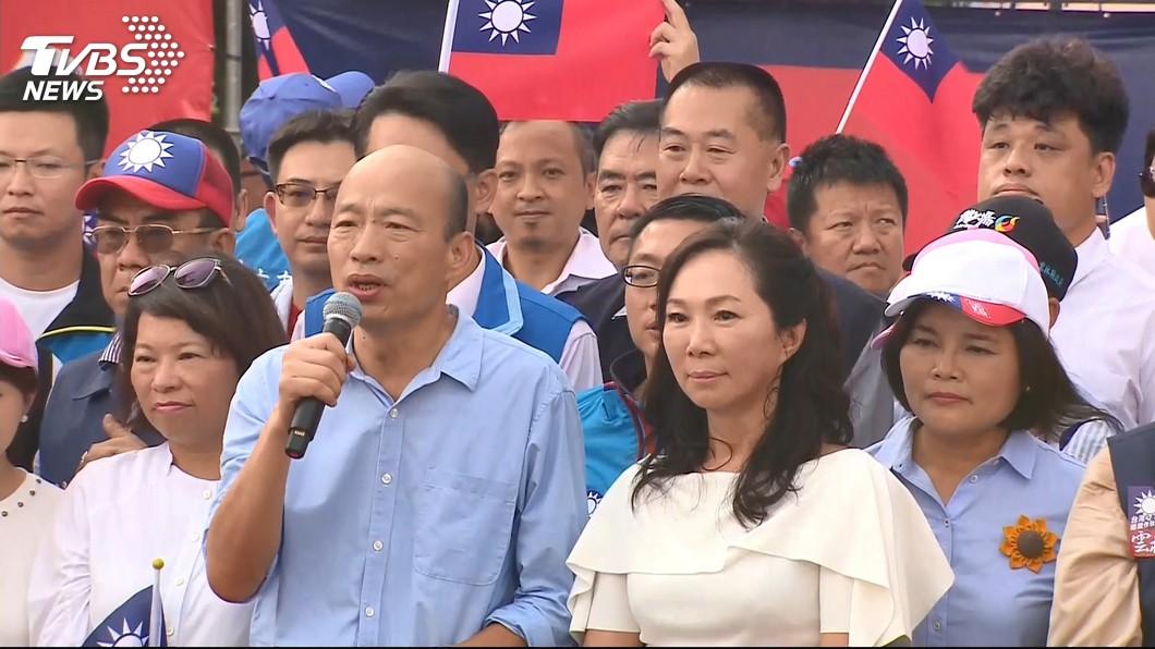 圖/TVBS資料畫面 韓國瑜總統運?有「小石頭」阻礙 命理師給這「8字」