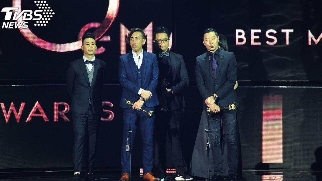 圖/台視提供 閃靈奪最佳樂團!下台前喊:「香港加油」