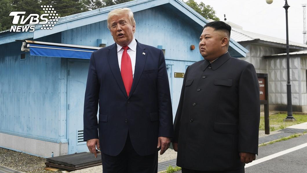 川普30日和金正恩在南北韓非軍事區(DMZ)舉行第3次會談。圖/達志影像美聯社 川普:北韓主談判代表還活著 希望其他人也是