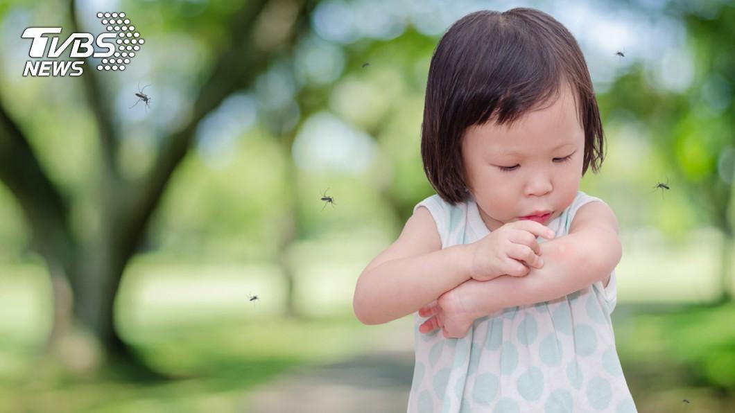 女童被蚊蟲叮咬導致4肢壞死。示意圖/TVBS 只是抓破蚊子包!女童高燒4天 下肢發黑「全壞死」