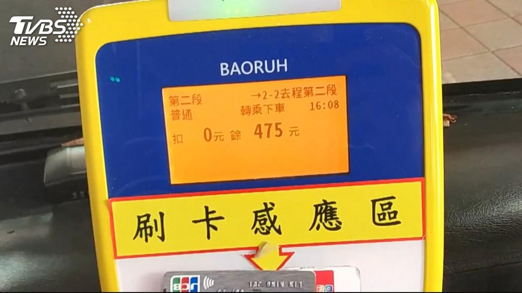 示意圖/TVBS 上下公車刷卡新制遭溢扣 新北交通局開罰