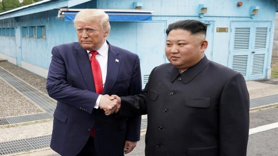 圖/達志影像路透 川金三會.跨兩韓停戰線 維安.媒體混戰