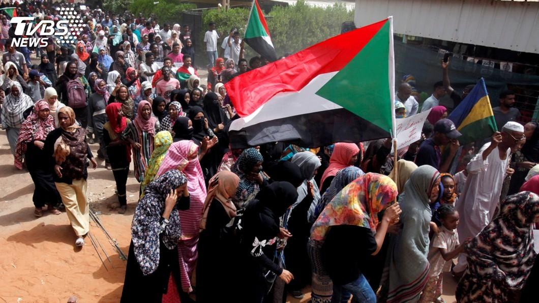 圖/達志影像路透社 逼軍政府還權 蘇丹示威領袖發起公民不服從