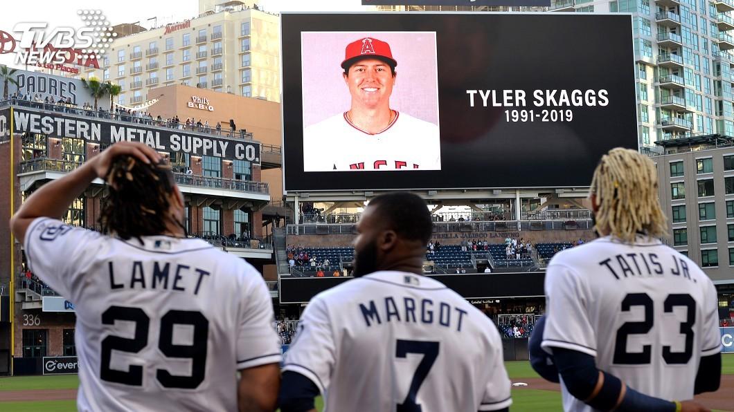 圖/達志影像路透社 MLB天使投手史凱格斯過世 棒球界心痛不捨