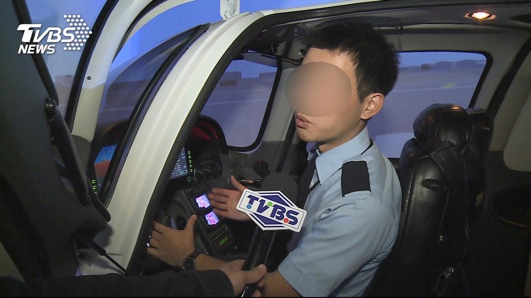 華航一名樓姓副機師疑似失戀喝醉酒,隨機在路上攻擊女騎士。(圖/TVBS) 失戀喝醉發酒瘋 華航副機師隨機攻擊女騎士
