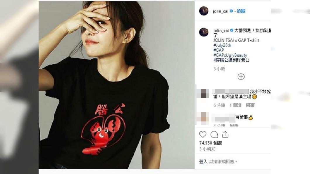圖/翻攝自蔡依林IG