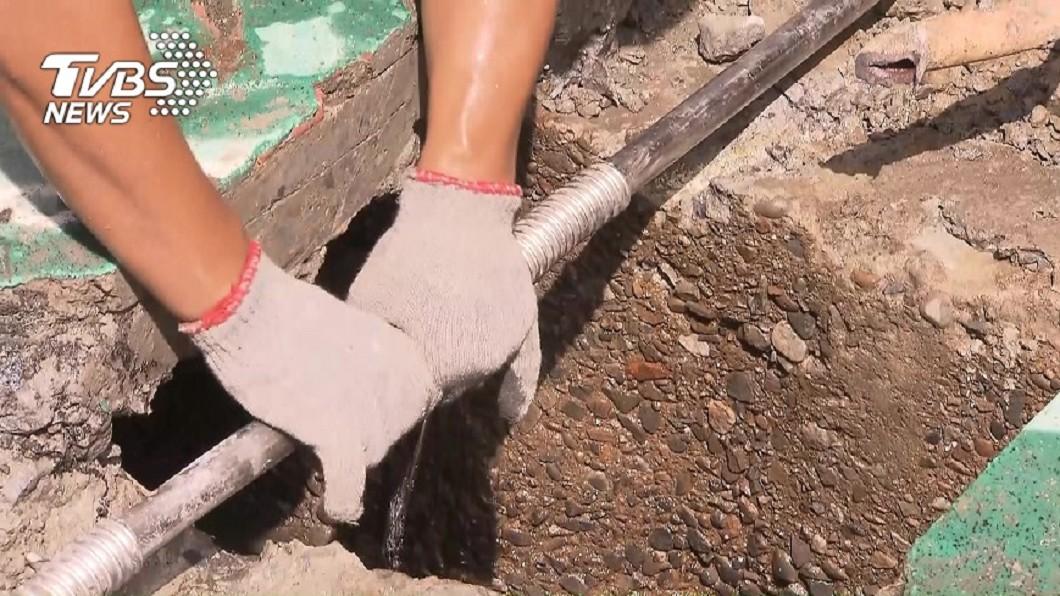 圖/TVBS 老舊建物檢測水質更新鉛管 北市府推補助