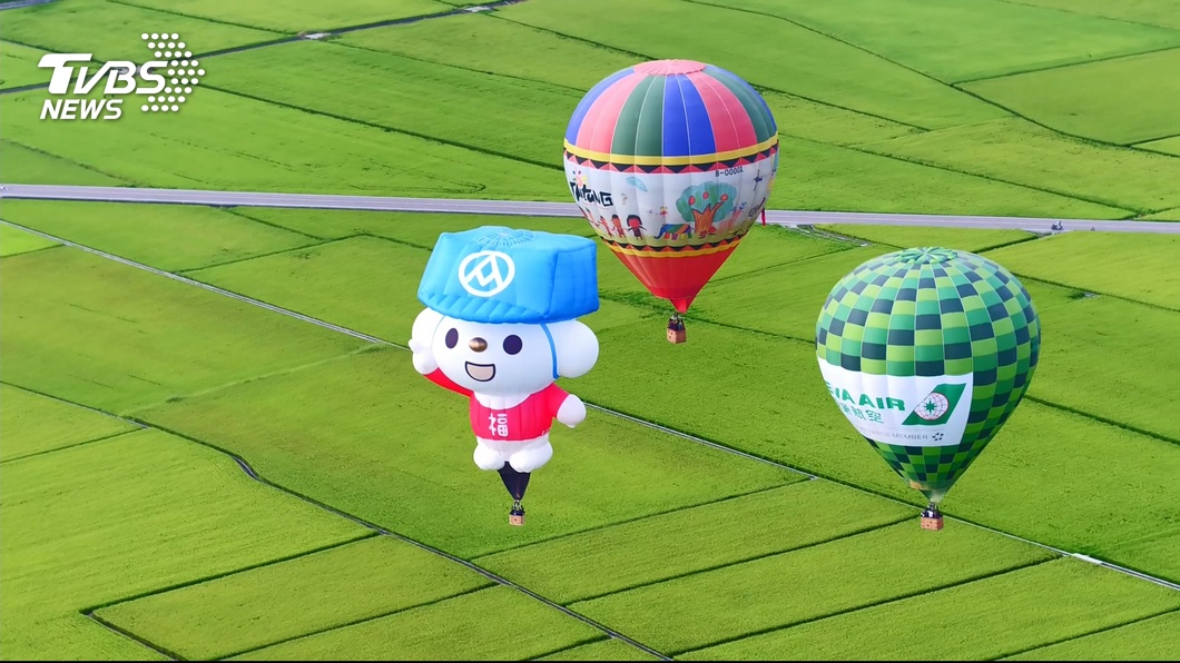 圖/TVBS 台東熱氣球節開幕 南迴回堵塞到爆