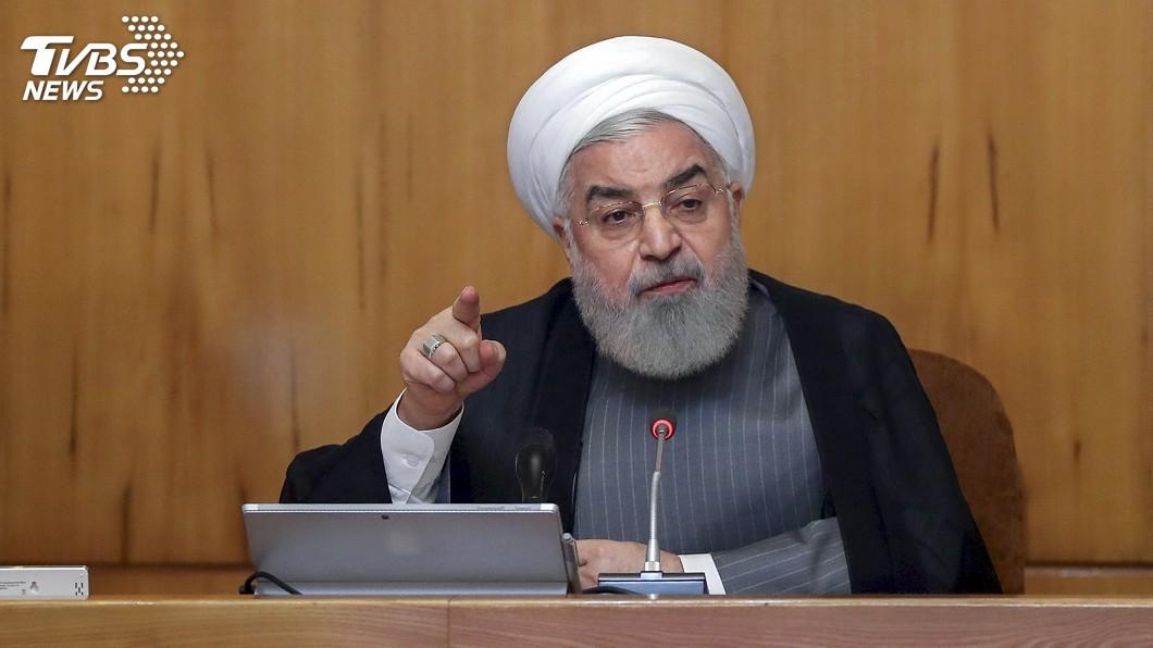 圖/達志影像美聯社 伊朗撂狠話 7日起濃縮鈾純度將超出核協議上限