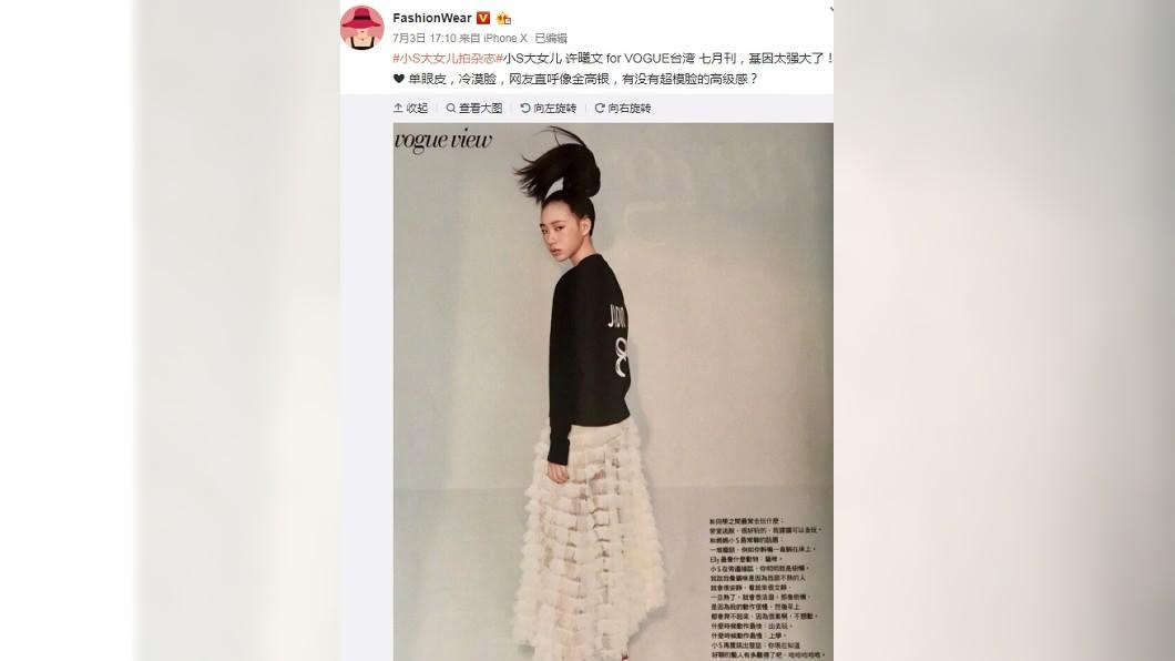 圖/翻攝自FashionWear微博