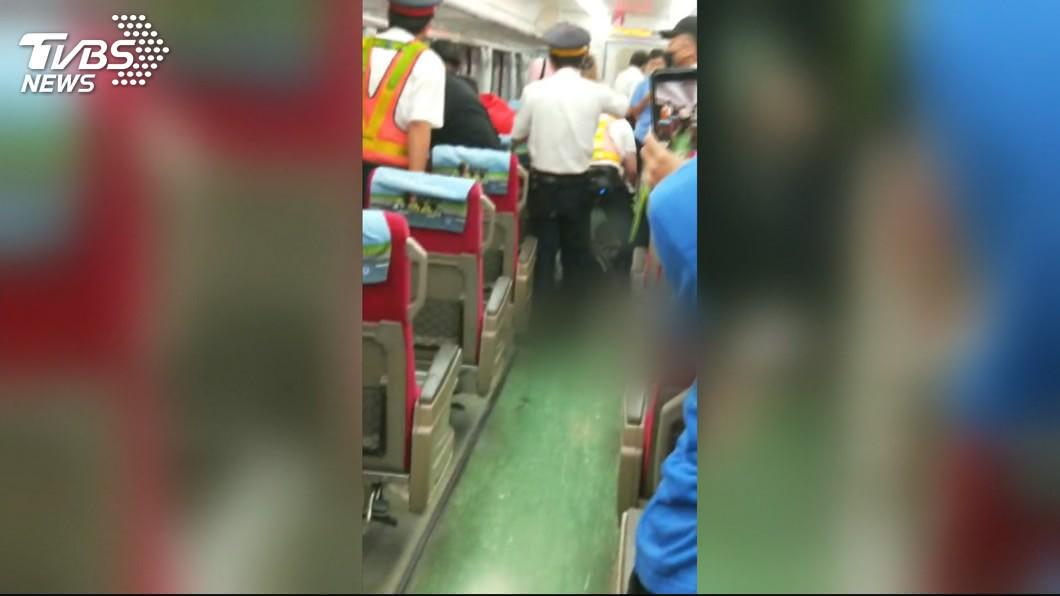 圖/TVBS 面對無理旅客 台鐵列車長僅能柔性勸導自保