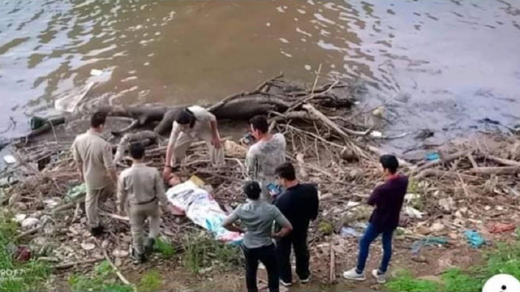圖/翻攝自 中國報 女星遭槍殺全裸陳屍橋下 警方調查「案情大翻轉」