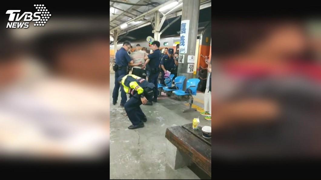 圖/TVBS 鐵路警因公殉職 警政署:提升執勤安全訓練