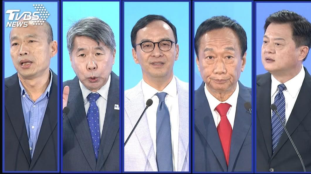 圖/TVBS 藍初選誰勝算大? 命理師爆:「這位」90%會當總統