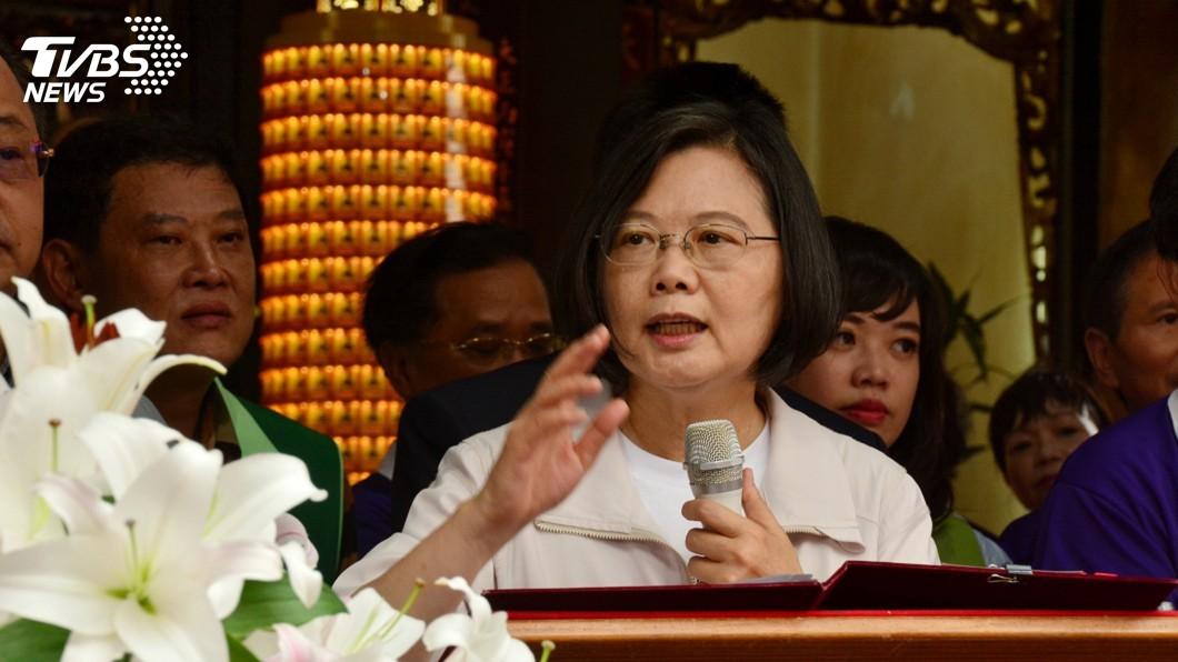 圖/中央社 台灣第一季經濟成長 總統:亞洲四小龍之首