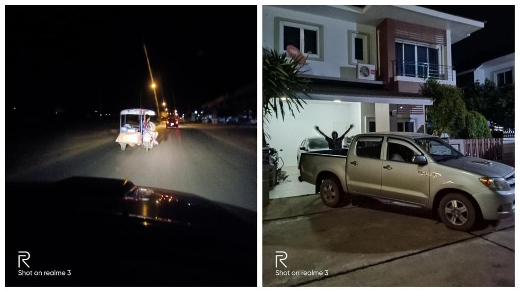 泰國一名男子體認拾荒老人太辛苦,好心幫忙載運回收物,不料到他家時看傻了。(圖/翻攝自臉書) 體貼拾荒老人辛苦…男好心幫載運到家 眼前豪宅他傻了