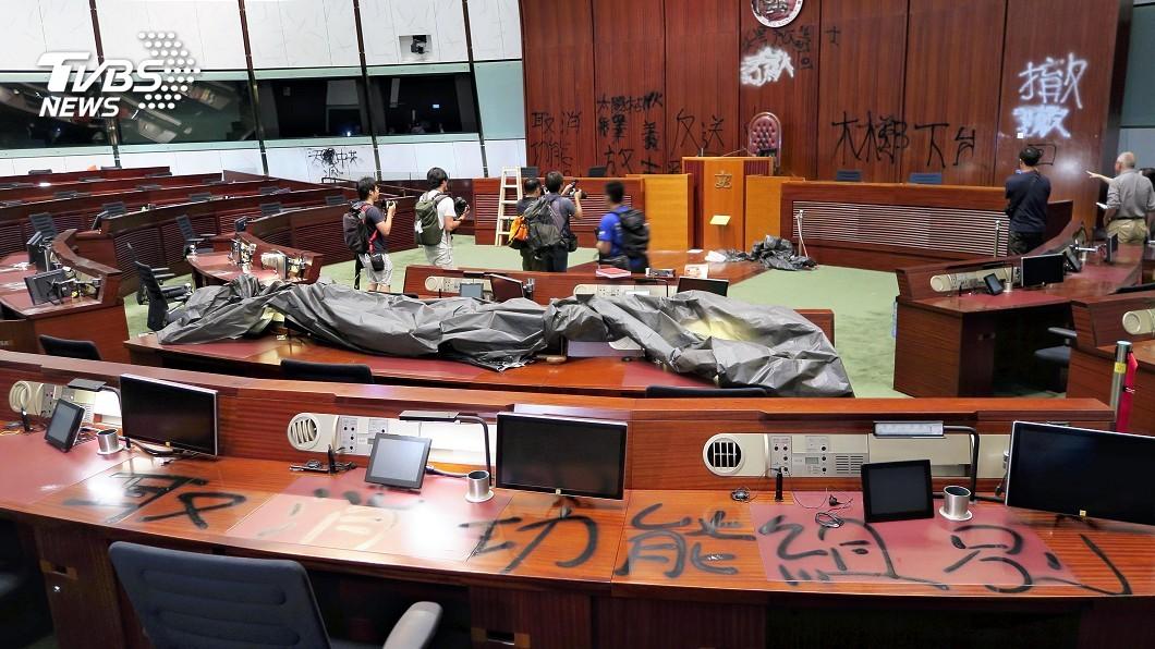 圖/達志影像美聯社 英國表態挺香港抗爭 英陸爆外交口水戰