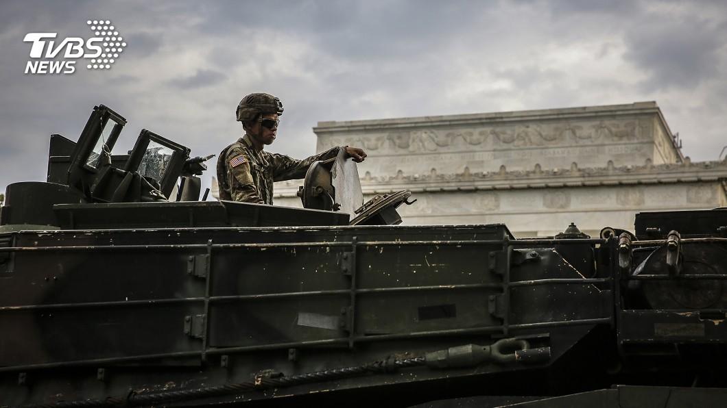 圖/達志影像美聯社 川普要在華府閱兵! 坦克、戰機搬首都炫耀