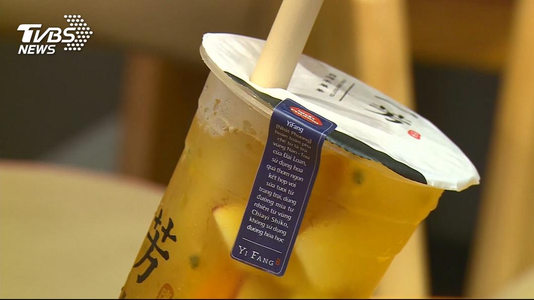 上海市民連喝飲料都備註「料少一點」。示意圖/TVBS