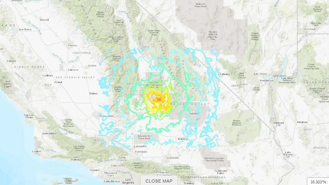 圖/翻攝自USGS網站