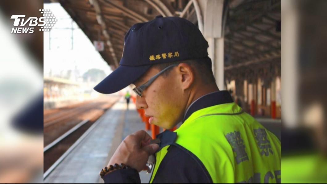 鐵路警察李承翰日前因公殉職。示意圖/TVBS 勇警李承翰16日舉行告別式 公祭流程曝光
