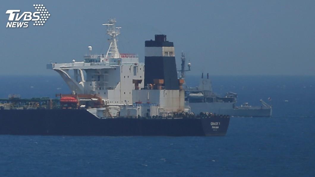 圖/達志影像路透社 違反制裁運油至敘利亞 歐盟首度扣押伊朗油輪