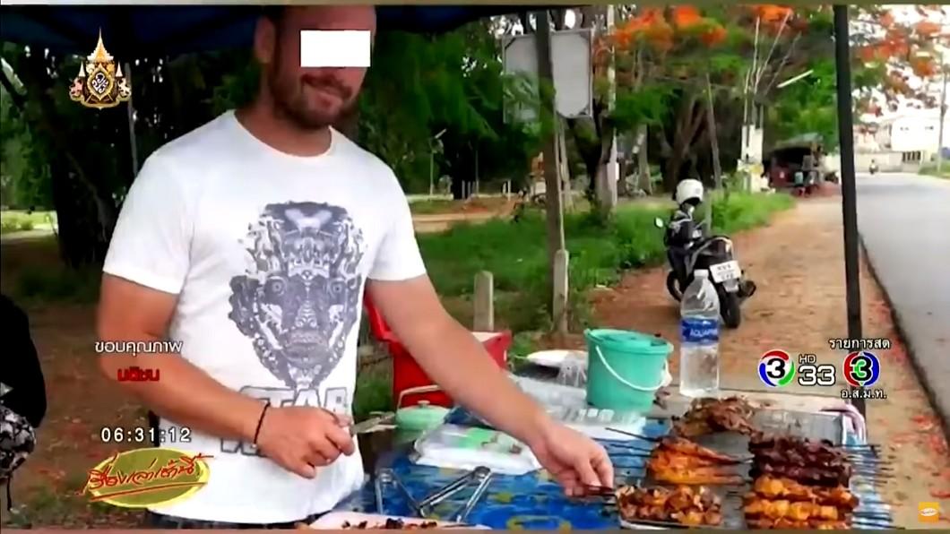 圖/翻攝自 YouTube 路邊燒雞太美味爆紅 引警關切…老闆竟是國際逃犯