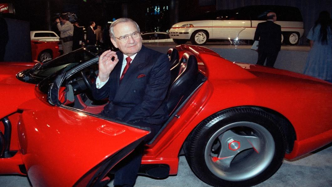 圖/達志影像美聯社 救克萊斯勒免破產 美車界傳奇艾科卡辭世