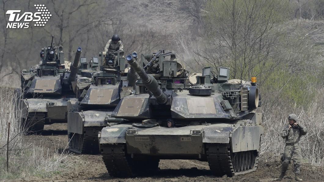 圖/達志影像美聯社 傳美將宣布售台M1A2戰車 外交部:審查進行中