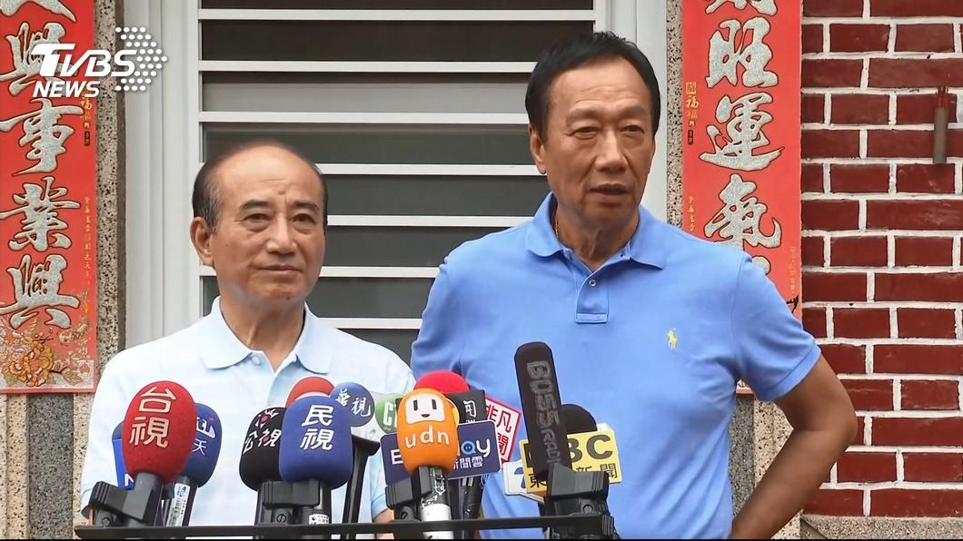 圖/TVBS資料畫面 傳郭、王今日悄悄會面?郭台銘辦公室回應了