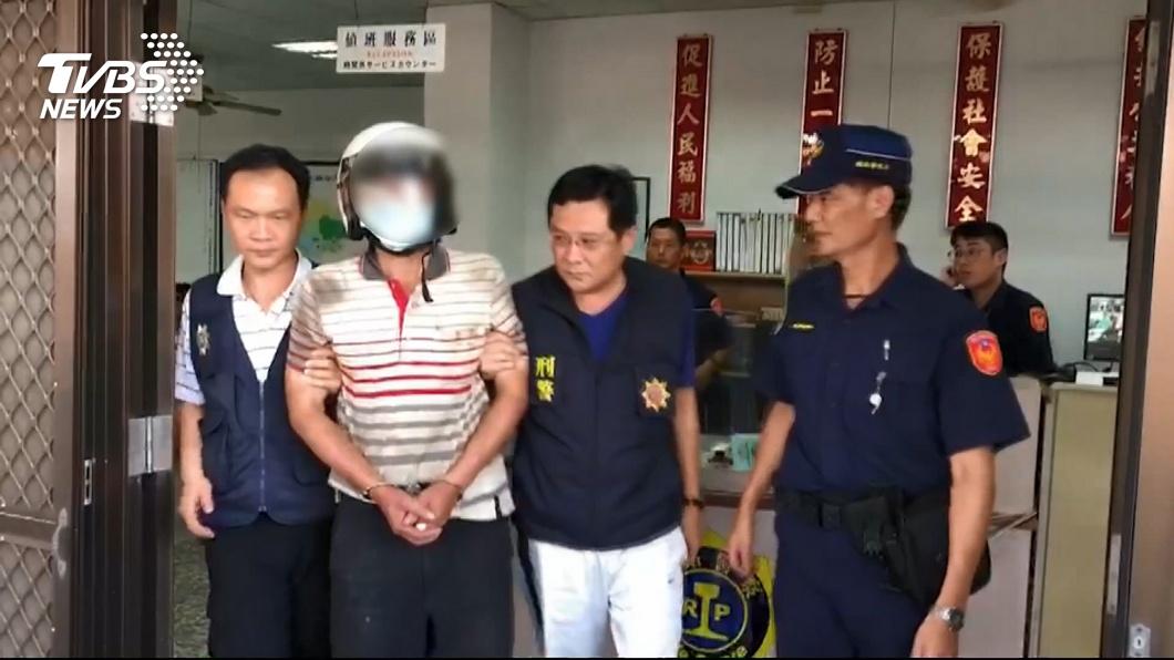 圖/TVBS 火車上殺警嫌 當天曾先到議員服務處陳情