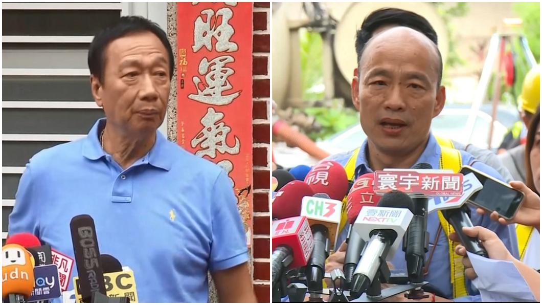 圖/TVBS資料照 郭董酸約不到人「他在高雄時間少」 韓國瑜回應了