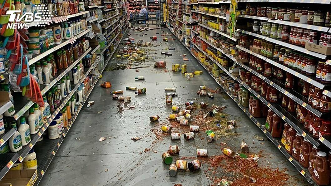 圖/達志影像美聯社 加州又震! 規模7.1成25年來最強地震