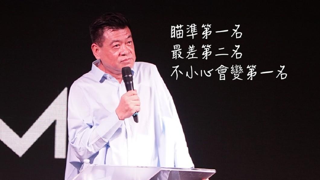 孫德容6日以「我的人生不需要你按讚」為題演講。圖/翻攝iM Church 行動教會 - Inspiring Moment臉書