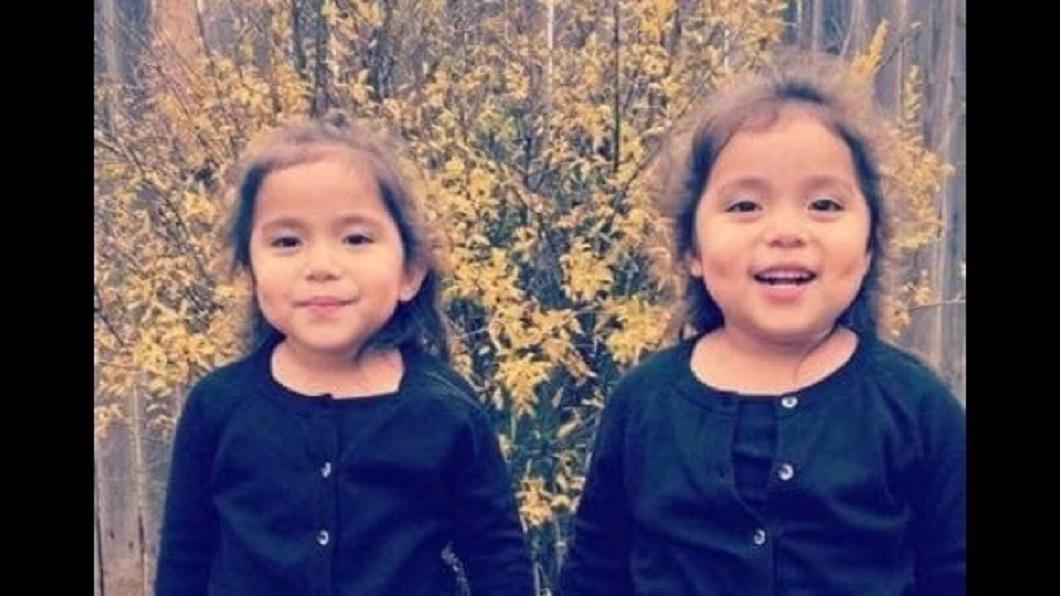美國一對雙胞胎姊妹日前遭一名酒駕女子活活撞死。(圖/翻攝自「GoFundMe」募資網站) 女爛醉酒駕上路 6歲雙胞胎姊妹被她活活撞死