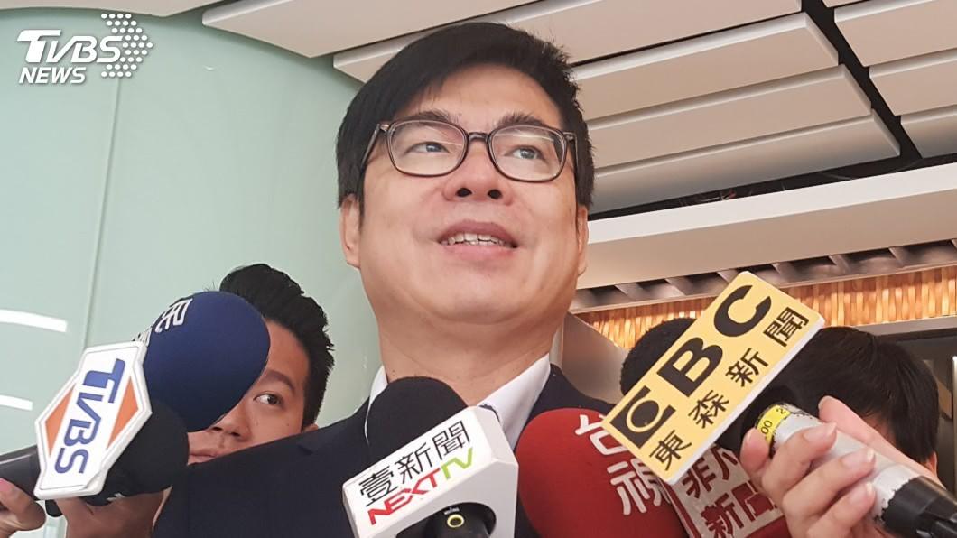 圖/中央社 韓國瑜指遭監控 陳其邁:勿拉低總統大選格調