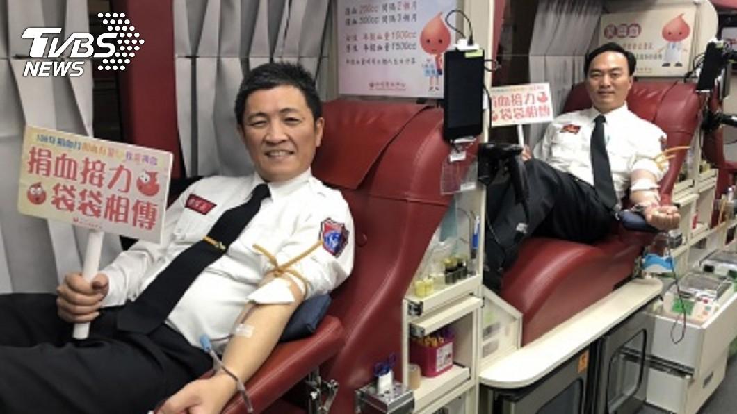 民眾可至博愛路的嘉義捐血站或是嘉義公園捐血車捐血。圖/TVBS