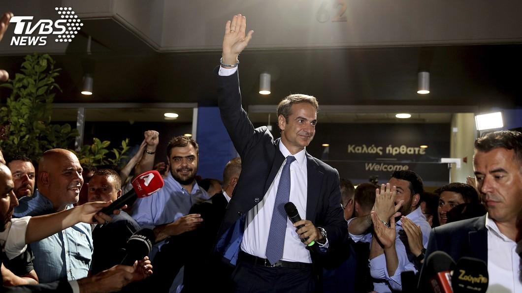 圖/達志影像美聯社 希臘大選變天右翼重返執政 3大重點一次看