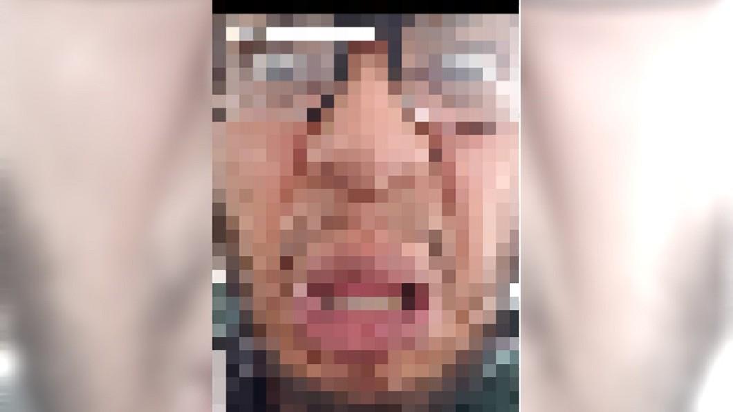 圖/翻攝自 Kearny Police 臉書 笨賊上傳超醜自拍照 警曝「瞪眼翻唇」長相笑翻網