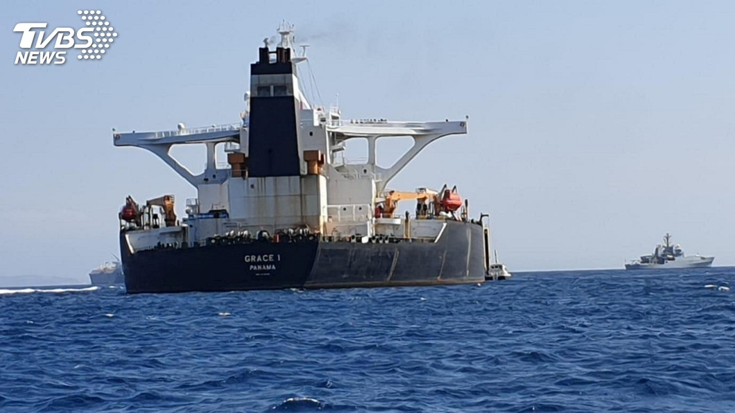 圖/達志影像路透社 英國扣押違反制裁油輪 伊朗批評是錯誤威脅舉動