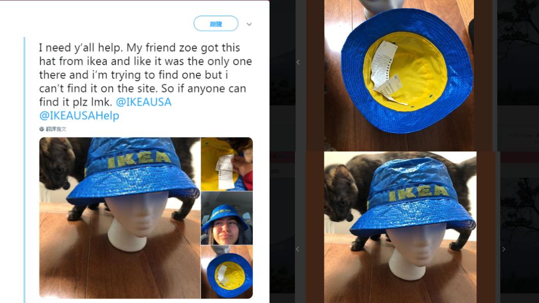 漁夫帽在推特上引發熱潮。圖/翻攝自推特@zxwadiii