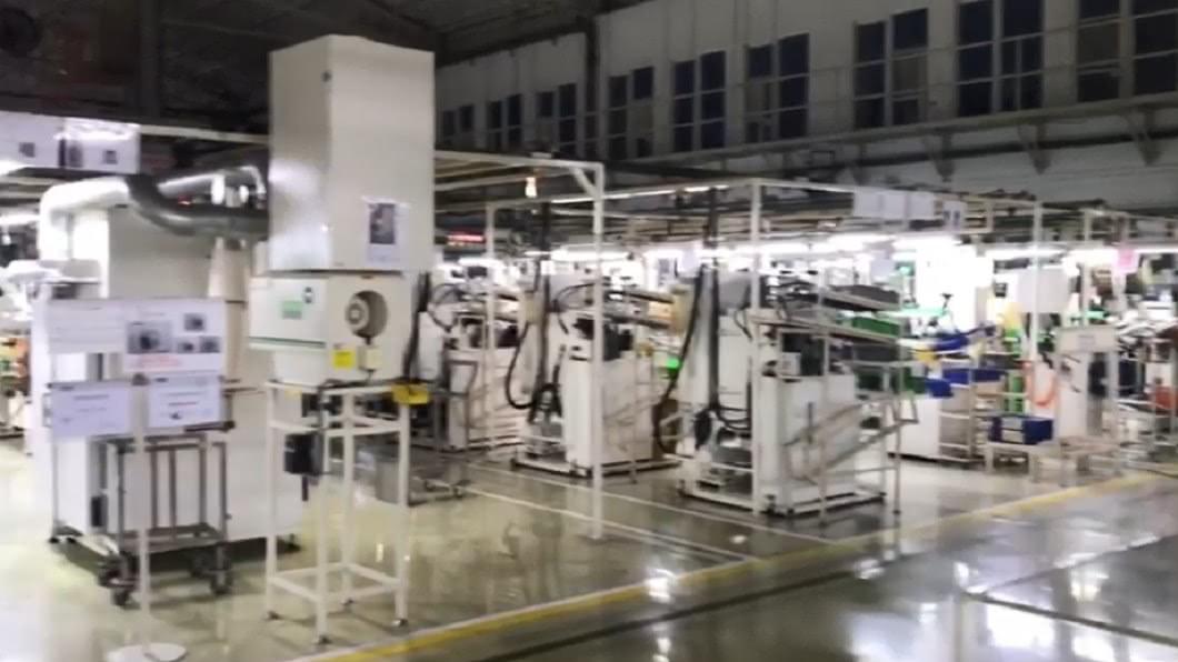 工廠環境乾淨整潔。圖/翻攝自臉書