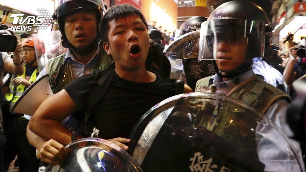 圖/TVBS 「反送中」正寫香港歷史 年輕人拿命賭未來