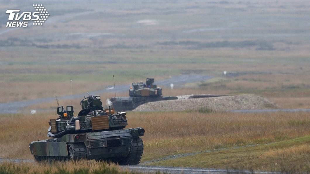 圖/達志影像路透社 美售台M1A2戰車 外交部:助落實整體防衛作戰